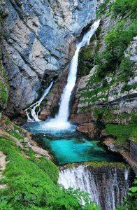najlepši slapovi v Sloveniji